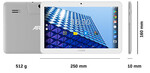 ARCHOS TABLET ACCESS 101 3G 10,1CALA 1GB/16GB  GPS