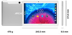 Archos Tablet Core 101 4G Srebrny 16GB V3
